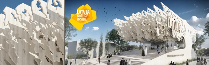EXPO 2015 - LATVIA - Apiary of Life