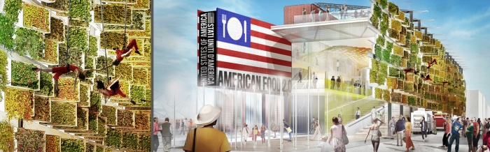 EXPO 2015 - UNITED STATES OF AMERICA - American Food 2.0