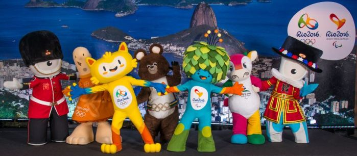 RIO 2016 - THE MASCOT OF THE OLYMPIC GAME AND THE PARALYMPIC GAME